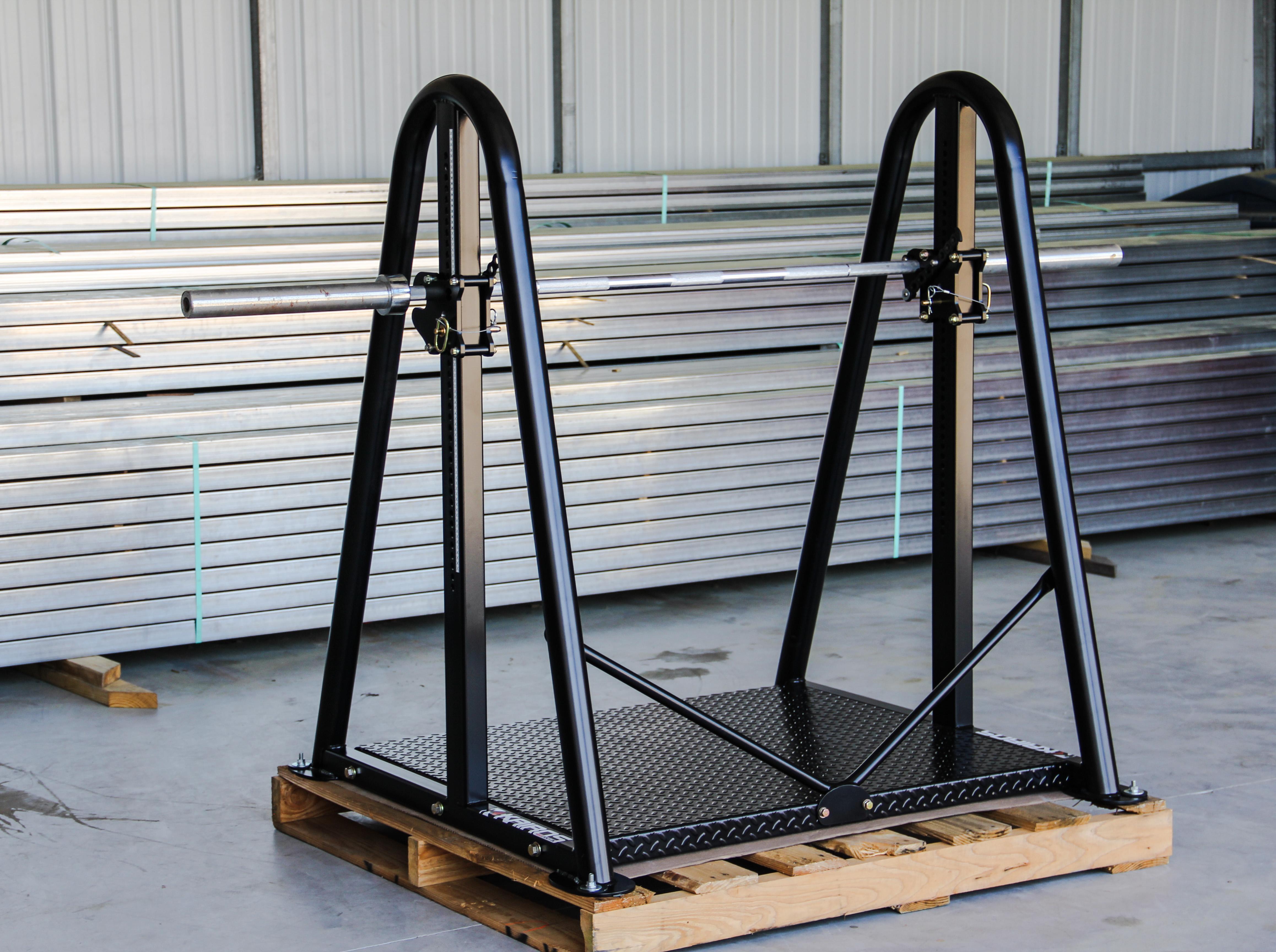 Isometric Mid Thigh Pull (IMTP) Rack